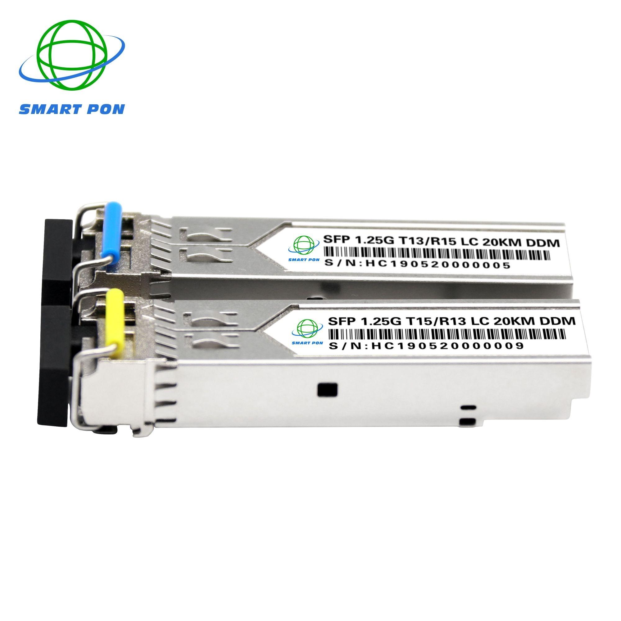 1.25g LC port single mode fiber sfp module