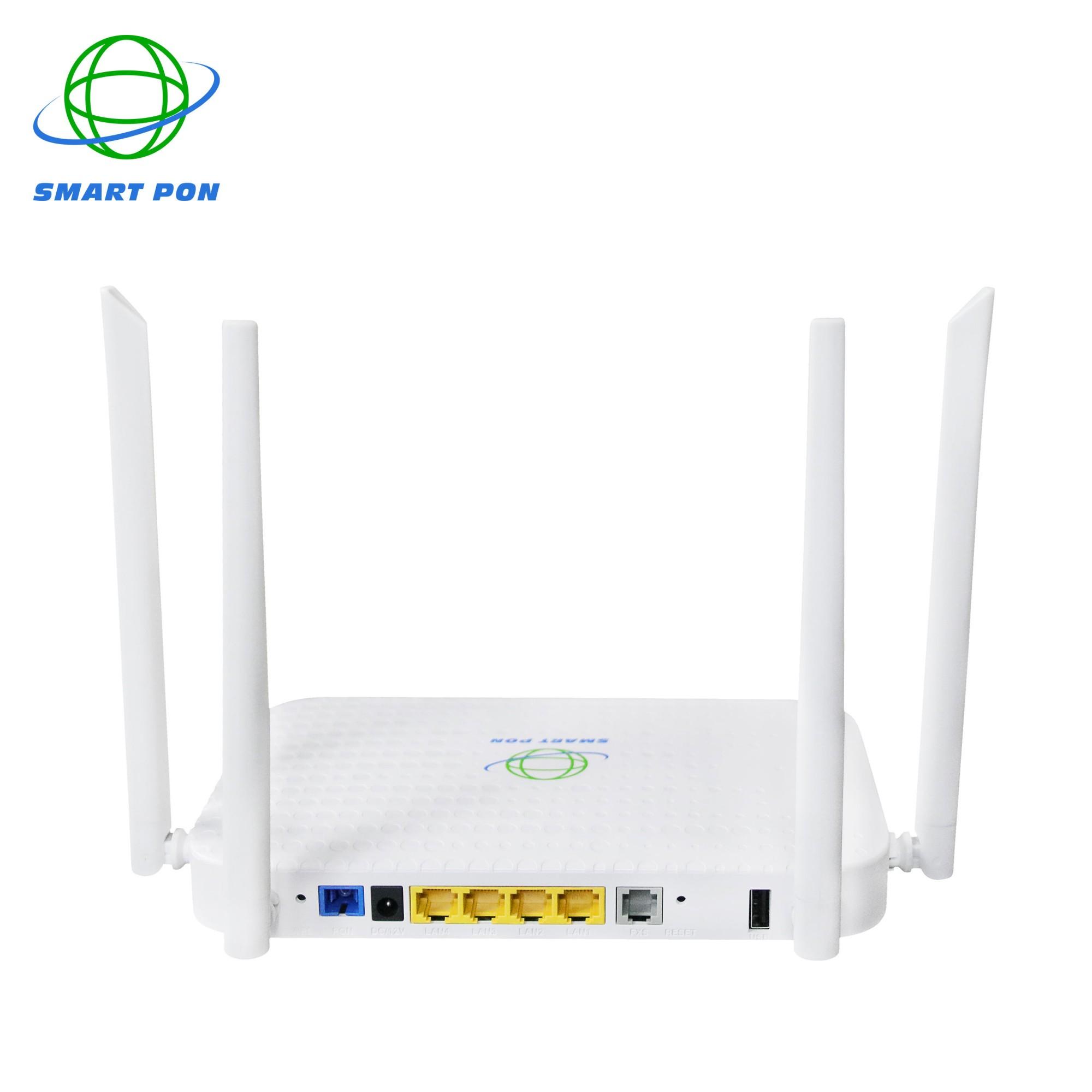 4GE + WiFi + 1USB + Voice XPON ONU